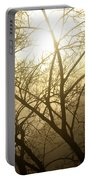 02 Foggy Sunday Sunrise Portable Battery Charger