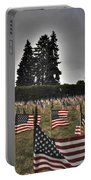 05 Flags For Fallen Soldiers Of Sep 11 Portable Battery Charger
