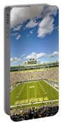 0538 Lambeau Field Portable Battery Charger by Steve Sturgill