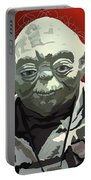 068. Do Or Do Not. There Is No Try Portable Battery Charger by Tam Hazlewood