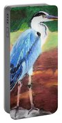 08282016 Female Blue Heron Portable Battery Charger