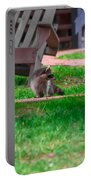 #01 Raccoon Race Portable Battery Charger