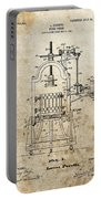 1903 Wine Press Patent Portable Battery Charger