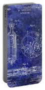 1913 Pocket Watch Patent Blue Portable Battery Charger