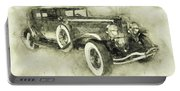 1928 Duesenberg Model J 3 - Automotive Art - Car Posters Portable Battery Charger