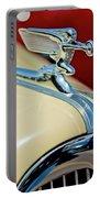 1940 Packard Hood Ornament Portable Battery Charger by Jill Reger
