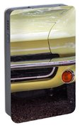 1965 Yellow Sting Ray Front Bumper Portable Battery Charger