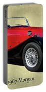 1967 Morgan Classic Sports Car Portable Battery Charger