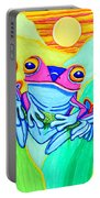 3 Little Frogs Portable Battery Charger