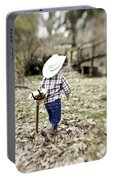 A Boy And His Horse Portable Battery Charger