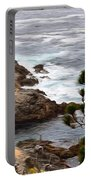 A Grey Day At Big Sur 2 Portable Battery Charger