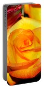 A Rose Is A Rose Portable Battery Charger