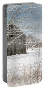 A Winters Day Portable Battery Charger