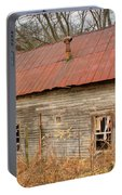 Abandoned Farmhouse In Kentucky Portable Battery Charger