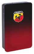 Abarth Carbon Competizione Portable Battery Charger