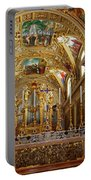 Abbey Of Montecassino Altar Portable Battery Charger