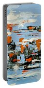 Abstract Art Project #25 Portable Battery Charger