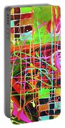 Abstract Colorful Portable Battery Charger