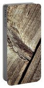 Abstract Detail Of A Wooden Old Board Portable Battery Charger