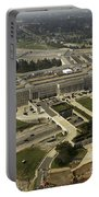 Aerial Photograph Of The Pentagon Portable Battery Charger