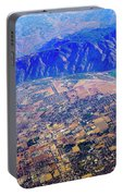 Aerial Usa. Los Angeles, California Portable Battery Charger