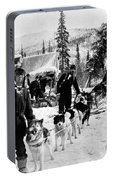 Alaskan Dog Sled, C1900 Portable Battery Charger