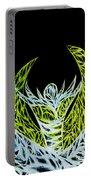 Alien Flower Portable Battery Charger