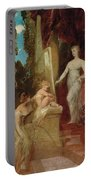 Allegory Of Painting Portable Battery Charger