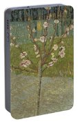 Almond Tree In Blossom Arles, April 1888 Vincent Van Gogh 1853 - 1890 Portable Battery Charger