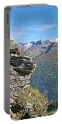 Alps Mountain Landscape  Portable Battery Charger