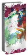 Amani African American Nude Fine Art Painting Print 4974.03 Portable Battery Charger