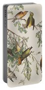 American Crossbill Portable Battery Charger