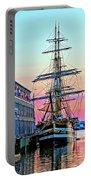 Amerigo Vespucci Tall Ship Portable Battery Charger