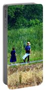 Amish Brother And Sister Portable Battery Charger