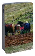 Amish Farming Portable Battery Charger