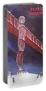 Angel Of The North Christmas Portable Battery Charger