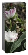 Angelique Peony Tulips Portable Battery Charger