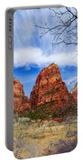 Angels Landing Portable Battery Charger by Chad Dutson