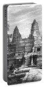 Angkor Wat, Cambodia, 1868 Portable Battery Charger