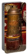 Antique Fire Extinguisher Portable Battery Charger