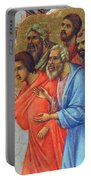Appearance Of Christ To The Apostles Fragment 1311  Portable Battery Charger
