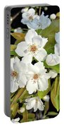 Apple Blossoms 0936 Portable Battery Charger