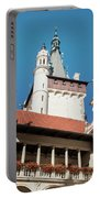 Architecture Details Of Pruhonice Castle Portable Battery Charger