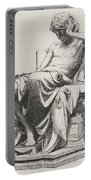 Aristotle, Ancient Greek Philosopher Portable Battery Charger by Science Source