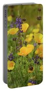Arizona Wildflowers  Portable Battery Charger