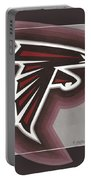 Atlanta Falcons Logo T-shirt Portable Battery Charger