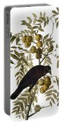 Audubon: Crow Portable Battery Charger