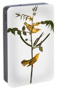 Audubon: Warbler, 1827-38 Portable Battery Charger