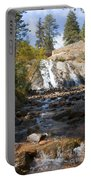 Autumn At Helen Hunt Falls Colorado Portable Battery Charger