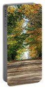 Autumn Backroad  Portable Battery Charger